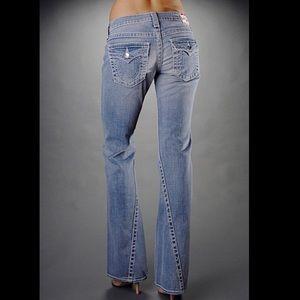 True Religion Disco Joey Jeans, Swarovski Accents